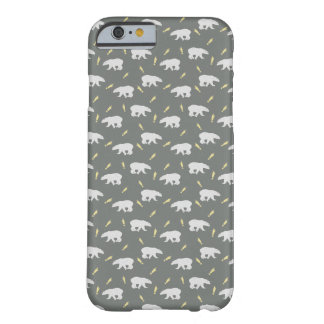Grey Polar Bear Handycase Barely There iPhone 6 Case