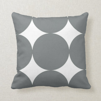 Grey Polka Dots Cushion