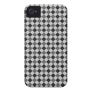 Grey Scale Argyle iPhone 4 Cover