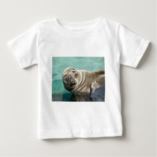 Grey Seal Straight On Portrait Baby T-Shirt