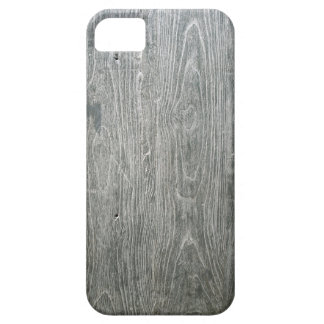 Grey Wood Barely There iPhone 5 Case