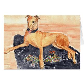 'Greyhound' Card