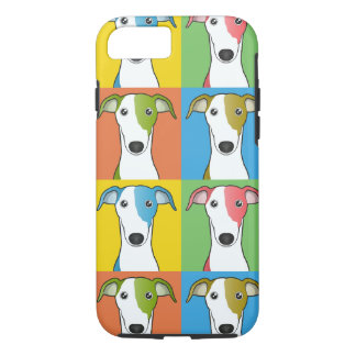 Greyhound Cartoon Pop-Art iPhone 8/7 Case