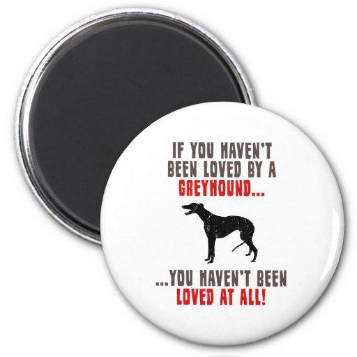 Greyhound Refrigerator Magnet