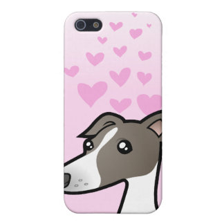 Greyhound / Whippet / Italian Greyhound Love iPhone 5/5S Cover