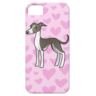 Greyhound / Whippet / Italian Greyhound Love iPhone 5 Covers