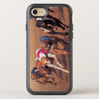 Greyhounds racing on track OtterBox symmetry iPhone 8/7 case