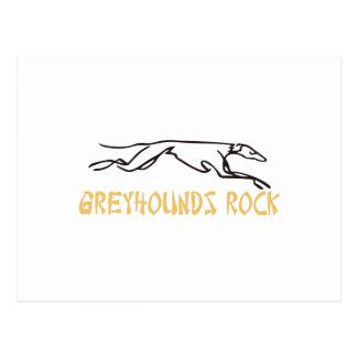 Greyhounds Rock Postcard