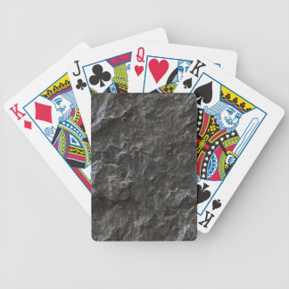Greyscale Natural Grunge Bicycle Playing Cards