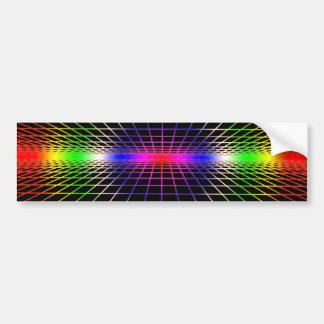 Grid To Eternity Bumper Sticker