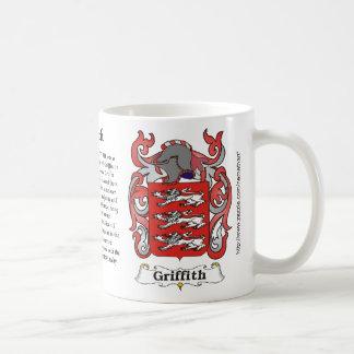 Griffith Coat of Arm mug