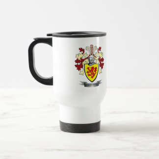Griffiths Family Crest Coat of Arms Travel Mug