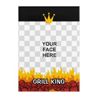 Grill King Acrylic Print