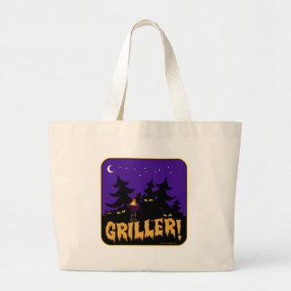 Griller! Large Tote Bag