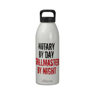 Grillmaster Notary Reusable Water Bottles