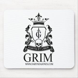 GRIM Final Logo.png Mouse Pad