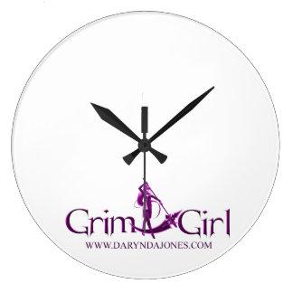 GrimGirl Clock
