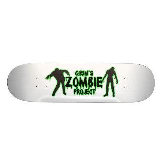 Grim's Zombie Project Skate Deck