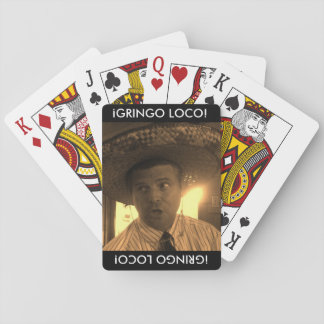 Gringo Loco Playing Cards
