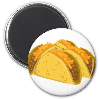Gringo Tacos 6 Cm Round Magnet