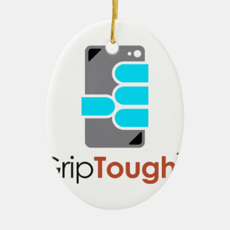 GripTough ™ Logo Ceramic Oval Decoration