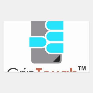 GripTough ™ Logo Rectangular Sticker