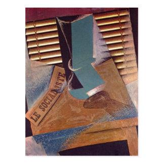 Gris, Juan Die Jalousie The Sunblind 1914 Techniqu Postcard