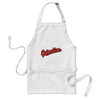 Grizzlies in Red Standard Apron