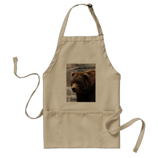 Grizzly Bear-011, Grizzly Bear Standard Apron