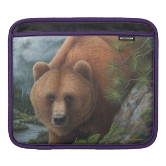Grizzly Bear Sleeve For iPads