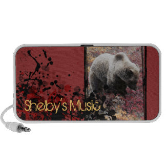 Grizzly Bear | Speaker | Customizable Template