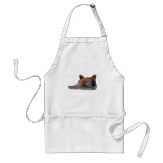 Grizzly Bear Swimming Standard Apron