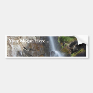Grizzly Waterfalls Car Bumper Sticker
