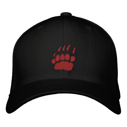 Grizzly Wines Embroidered Baseball Caps