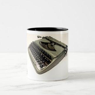 Groma Kolibri typewriter Two-Tone Mug