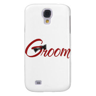 Groom with Bowtie Galaxy S4 Case