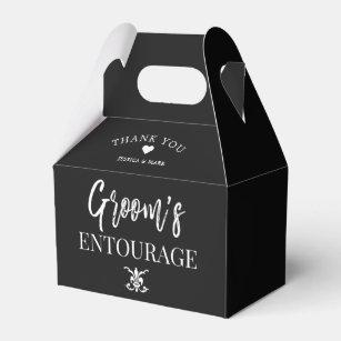Groom S Entourage Groomsmen Favour Box