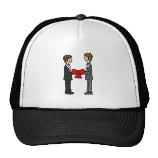 Grooms Tie the Knot Hat