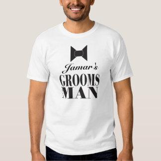 Groomsman Bowtie Tshirt