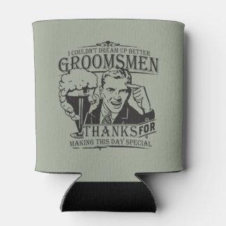 Groomsmen Can Cooler