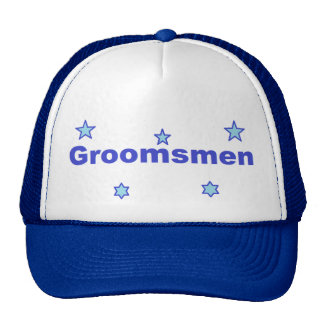 GRoomsmen Cap