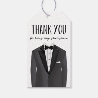 Groomsmen Thank You Gift Tags
