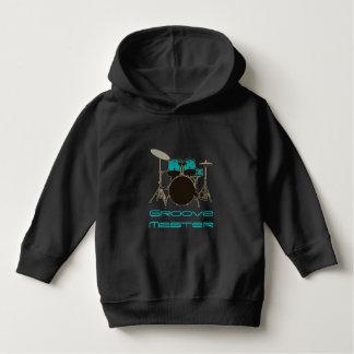 Groove Master Drummer ~ Drums and Music Hoodie