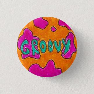 Groovy 3 Cm Round Badge