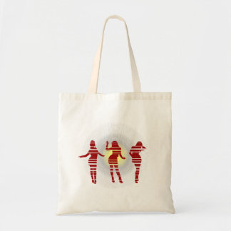 Groovy Beach Party Dancer and Sunshine Tote Bag