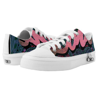 GROOVY MAN! - LOVE - TENNIS SHOES PRINTED SHOES