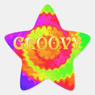 Groovy Star Stickers