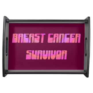 Groovy Survivor Serving Tray