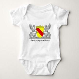Großherzogthum bathing with writing baby bodysuit