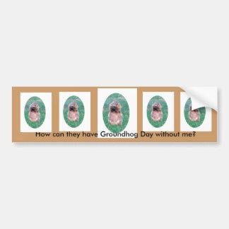 Groundhog Day Bumper Sticker